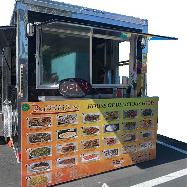 Taste of Afghan Food Truck